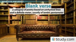 Blank Verse: Definition and Examples