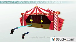 Common Signs & Symptoms of Neurological Conditions