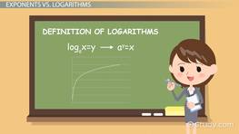 Logarithmic Function: Definition & Examples preview