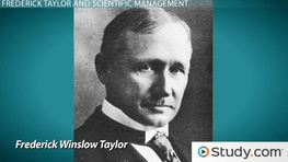 Frederick Taylor: Theories, Principles & Contributions to Management