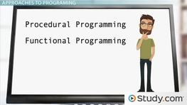 Functional Programming and Procedural Programming