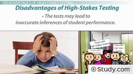 High-Stakes Testing: Accountability and Problems