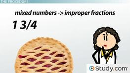 How to Change Mixed Numbers to Improper Fractions