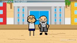 Conflict in The Giver