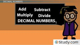 Arithmetic with Decimal Numbers