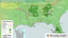 Indian Removal Act of 1830: Summary, Timeline & Facts