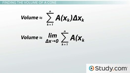 How to Calculate Volumes Using Single Integrals