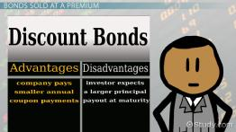 Issuing Bonds at a Discount or a Premium