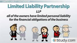 What Is a Limited Liability Partnership? - Definition, Advantages & Disadvantages