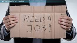 Measuring the Costs of Unemployment