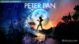 peter pan plot summary jm barrie