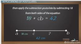 Postulate in Math: Definition & Example