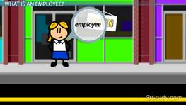 What is an Employee? - Definition & Types
