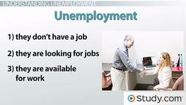 Why the Unemployment Rate Decreases and Increases