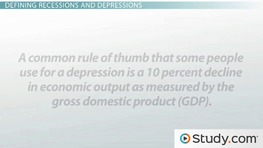 Recession vs. Depression: Definitions and Differentiation