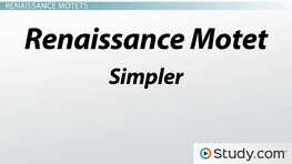 Singing and Polyphony in the Middle Ages and Renaissance