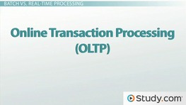 Transaction Processing Systems (TPS): Batch and Real-Time Systems