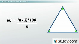 How to Measure the Angles of a Polygon & Find the Sum