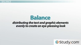 Visual Design of Your Message: Consistency, Balance, Restraint & Detail
