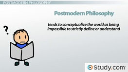 Postmodernism in Literature: Definition & Examples