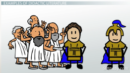 Didactic Literature: Definition & Examples