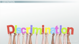 What Is Discrimination? - Definition & Examples