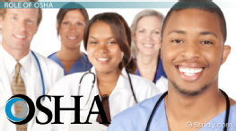Role of the CDC & OSHA in Standard Precautions