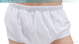 Fecal Incontinence: Definition & Causes