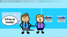 Sense of Belonging: Definition & Theory