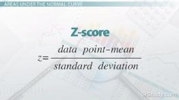 Estimating Areas Under the Normal Curve Using Z-Scores