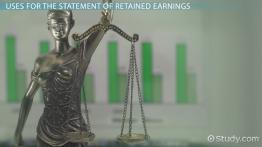 Statement of Retained Earnings: Definition, Formula & Example