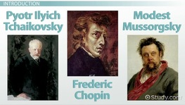 Tchaikovsky, Chopin & Mussorgsky: Eastern European Romantic Composers