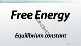 The Relationship Between Free Energy and the Equilibrium Constant