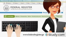 The Role and Function of the Federal Register