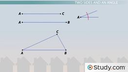 Constructing Triangles: Types of Geometric Construction