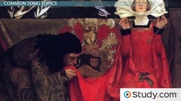 Unrequited and Courtly Love Songs of the Medieval Period
