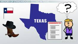 History of Standardized Testing in Texas