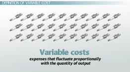 Variable Cost: Definition, Formula & Examples