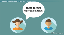 Vertical Velocity: Definition & Equation