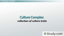 What Makes a Culture? - Vocabulary