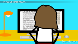 What Is Mass Media? - Definition, Types, Influence & Examples