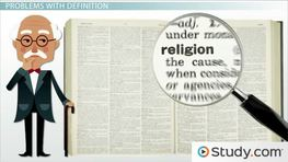 What Is Religion? - Definition & Role in Society
