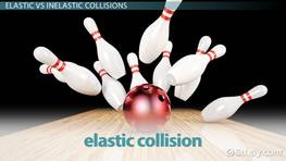 Elastic Collisions In One Dimension Video Lesson Transcript Study Com