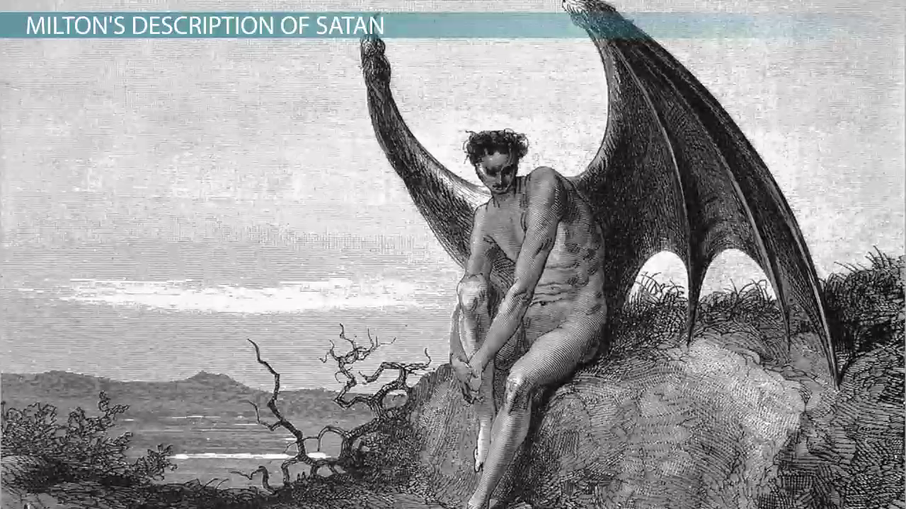 introduction to john milton life and major poems video lesson satan in paradise lost description speech fall