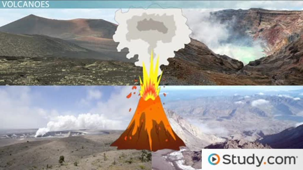 Volcanic Landforms Types  Formation  Video  Lesson Transcript