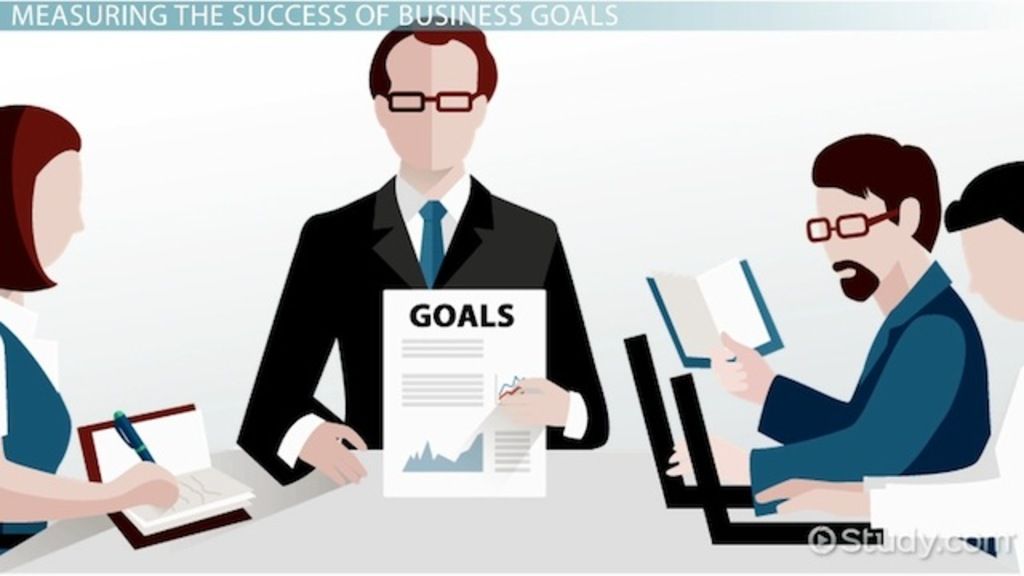 what are business goals  - definition  u0026 examples
