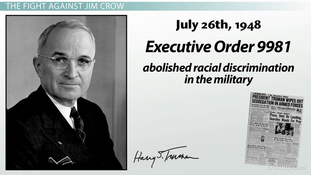 What Are Jim Crow Laws? - Definition, Examples & History - Video ...