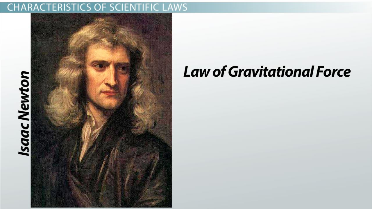 What Is A Scientific Law Definition Examples Video Lesson