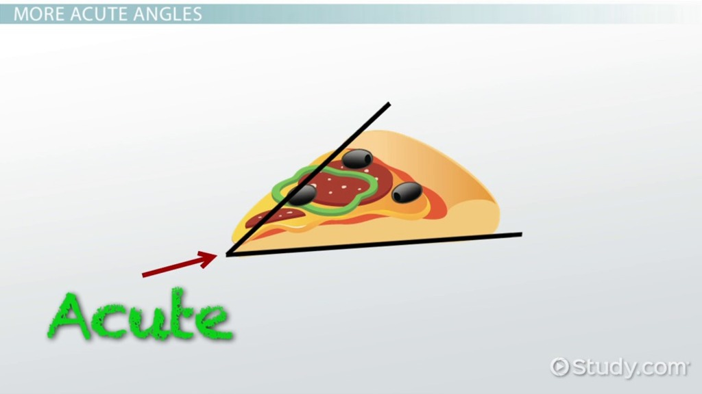Acute Angles In Real Life : What is an acute angle definition description