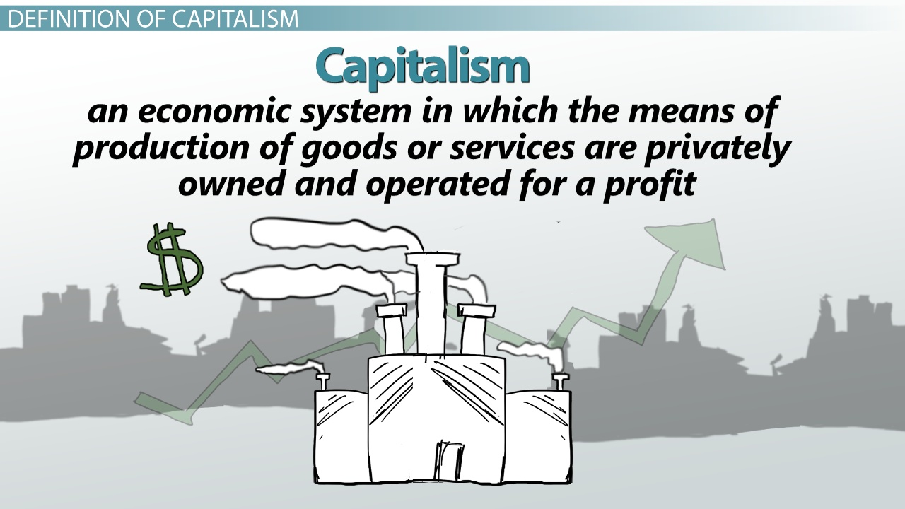 the definition of capitalism greed essay